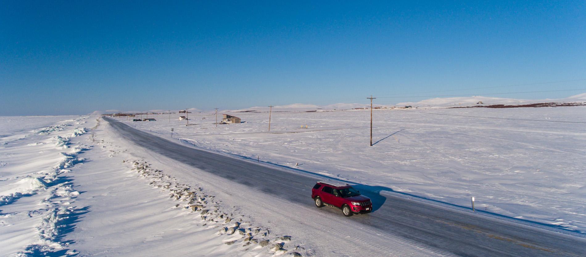 Stampede Car Rental Nome Alaska - SUV